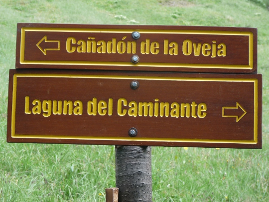 Paso-de-la-oveja-trek-panneau-laguna-caminante