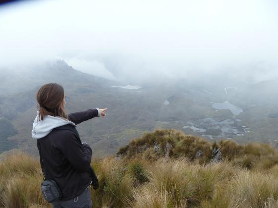 Parc National Cajas Equateur